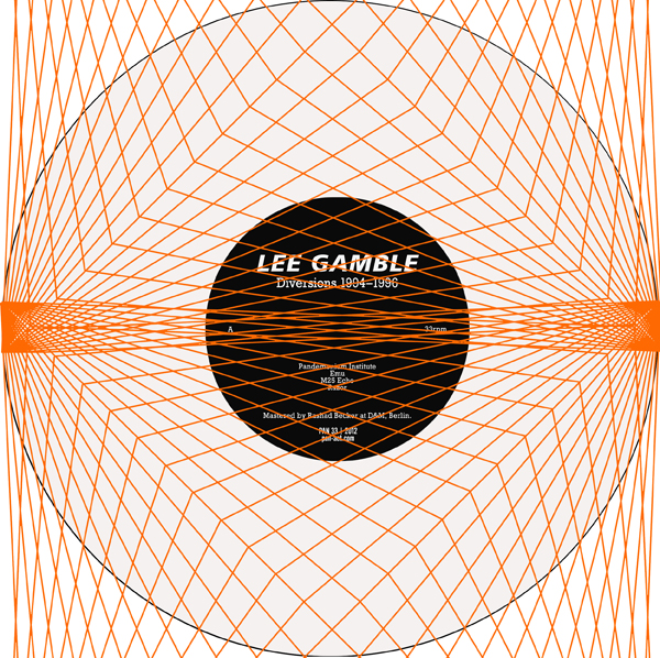 Lee Gamble - Diversions 1994–1996
