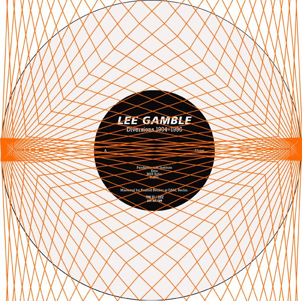 Lee Gamble - Diversions 1994–1996
